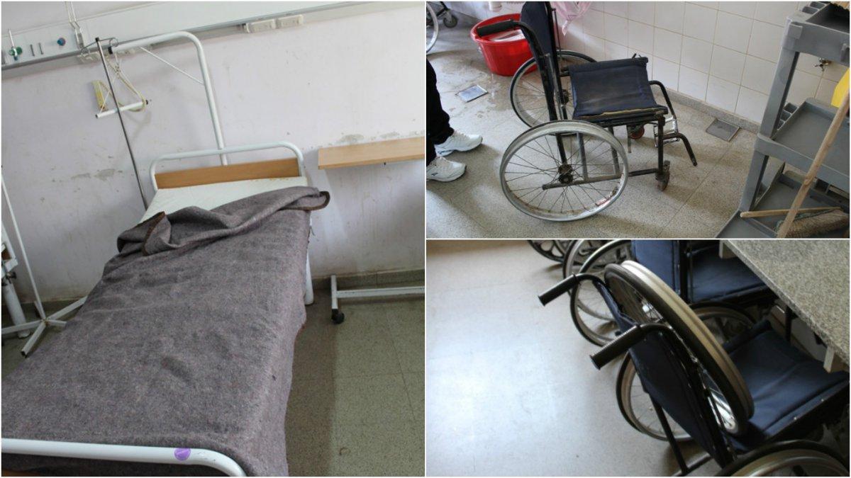 De este hospital se roban las sillas de ruedas las for Sillas para hospital