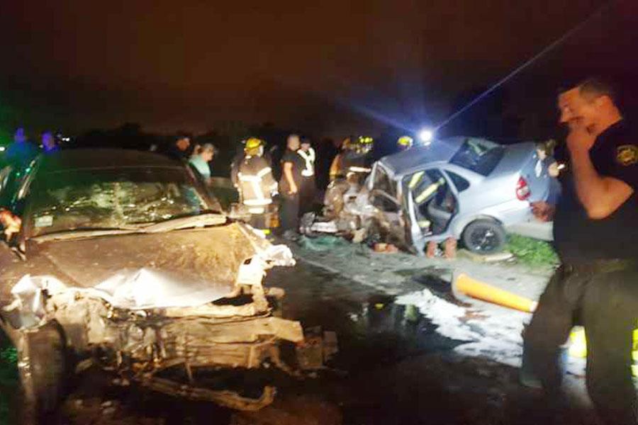 Choque fatal en autopista Rosario-Santa Fe dejó el saldo de dos muertos y un herido muy grave