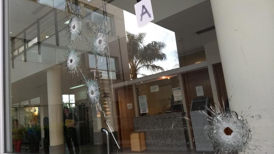 Detienen a adolescente involucrado en la balacera a Tribunales de San Lorenzo
