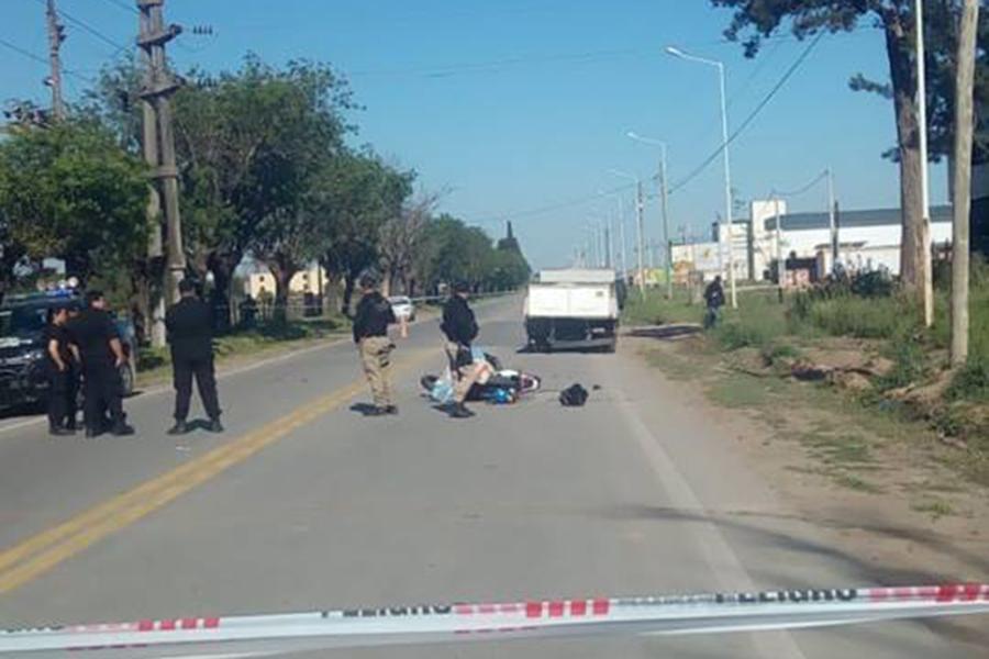 Accidente fatal en Capitán Bermúdez, a metros del acceso a la autopista