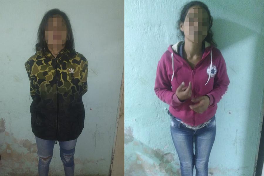 """Detienen a """"la Tania"""" y """"la Jesica"""", dos peligrosas delincuentes de San Lorenzo"""