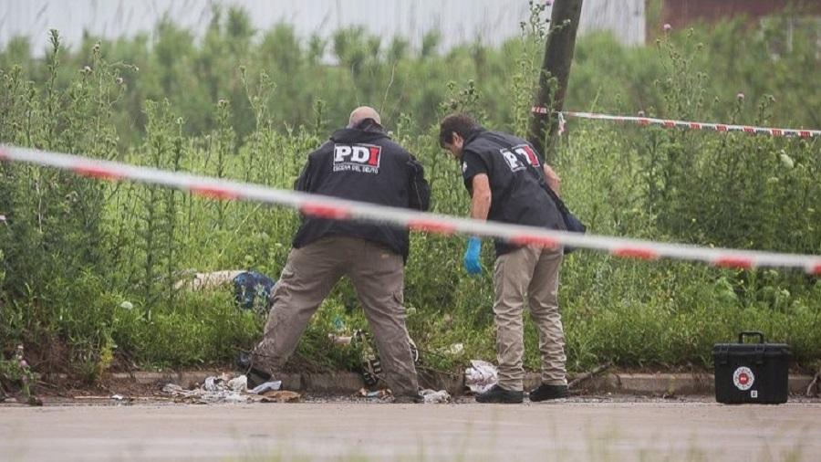 Hallaron un cadáver con tres tiros y un mensaje de contenido mafioso en la salida a Buenos Aires